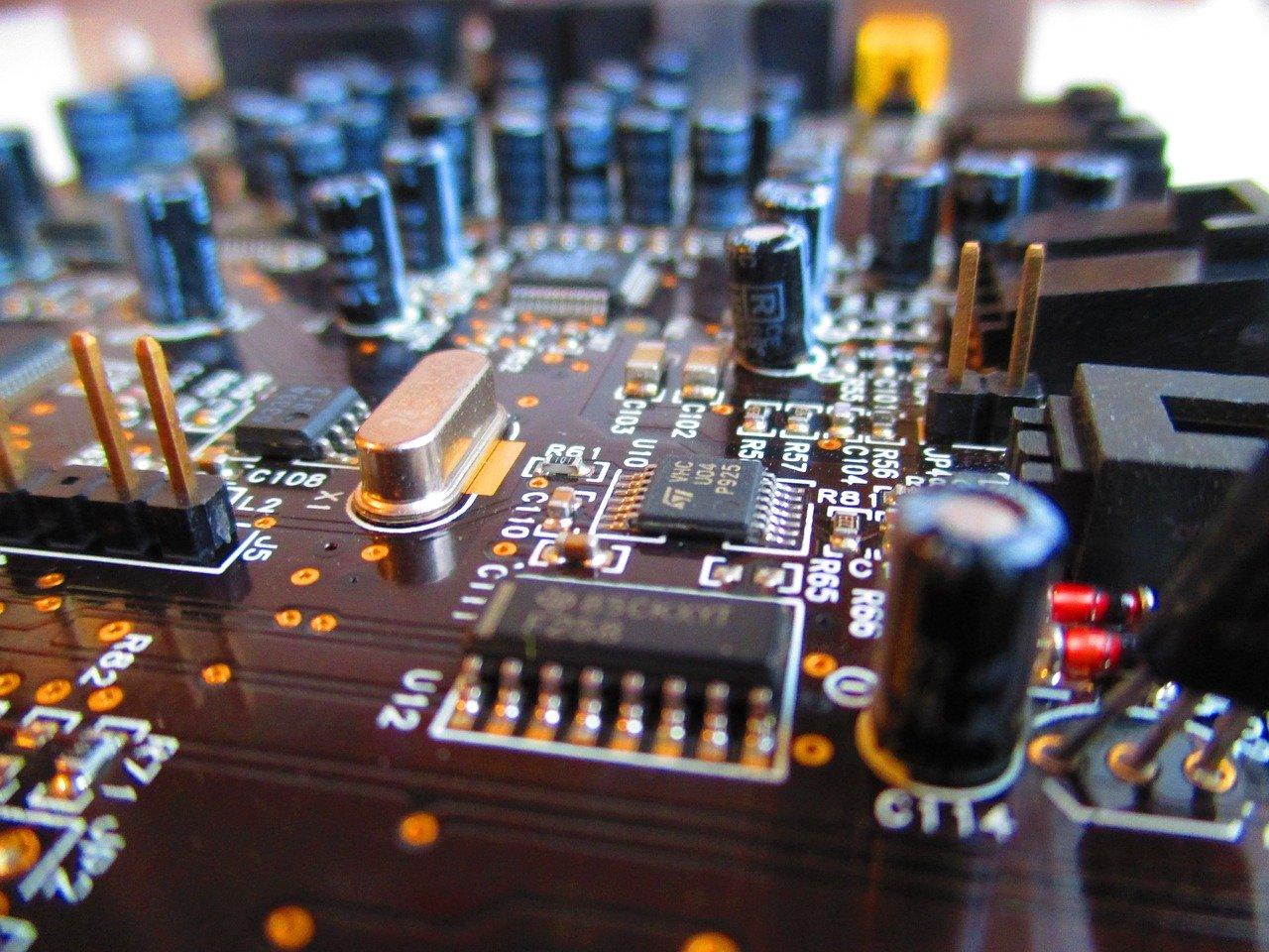 circuit board, electronic, circuit